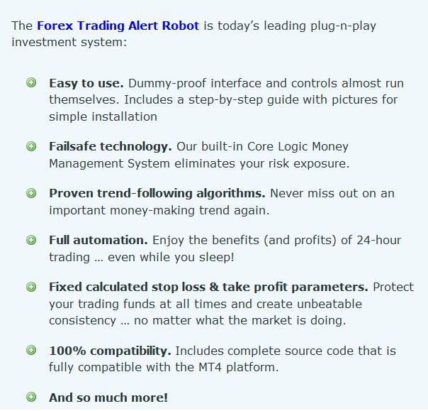 Forex Trading Alert Robot